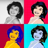 Julia Pop Art 4x4