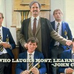 John Cleese on laughing and learning