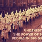 Stupid people + Big groups = x