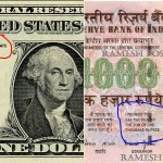 Real story of American Dollar v/s Indian Rupee … thanx Ravi Bhogaita